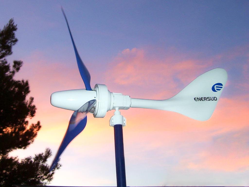Turbina Eólica Notus 138 - Enersud Energia Eólica RJ
