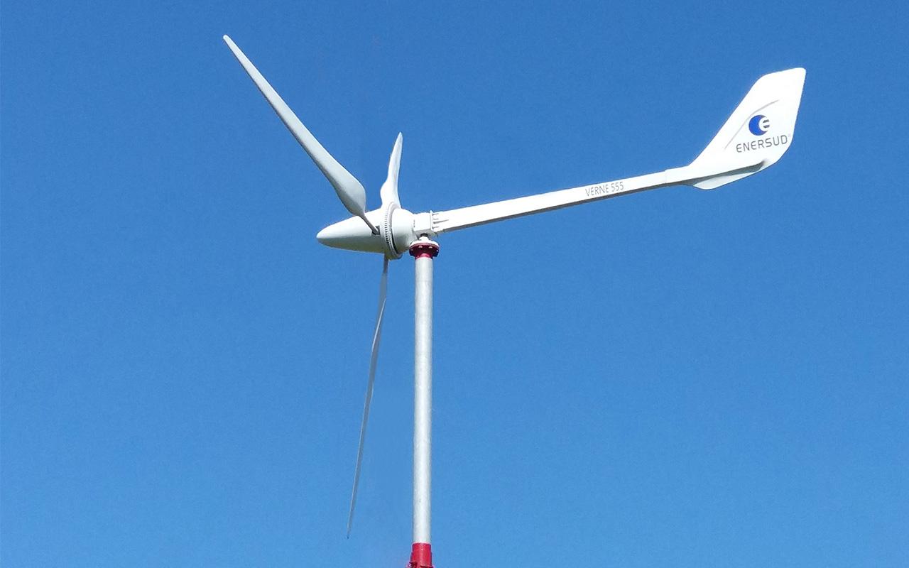 Turbina Eólica Verne 555 - Enersud Energia Eólica RJ