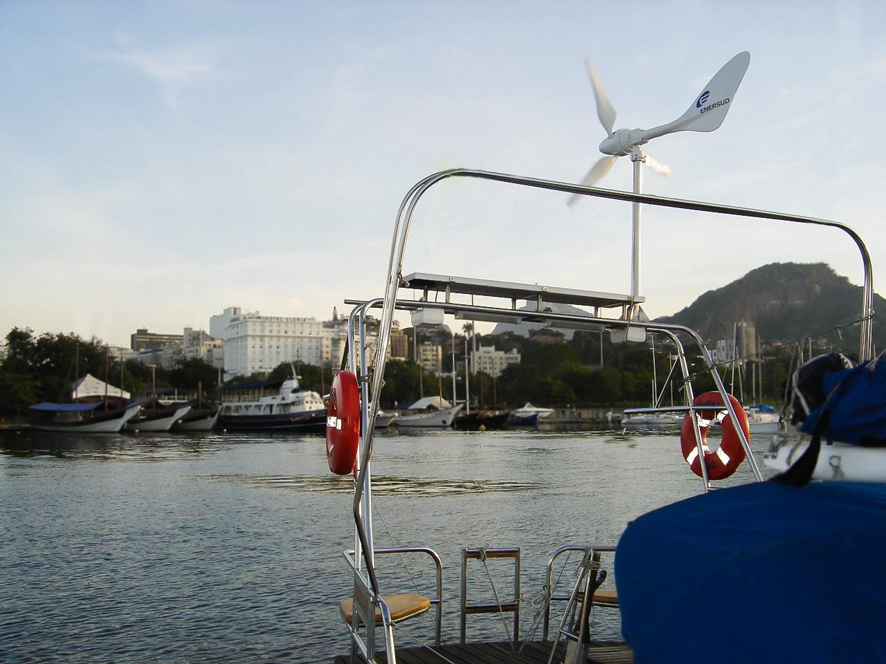 Turbina Eólica Notus Marine - Enersud Energia Eólica RJ