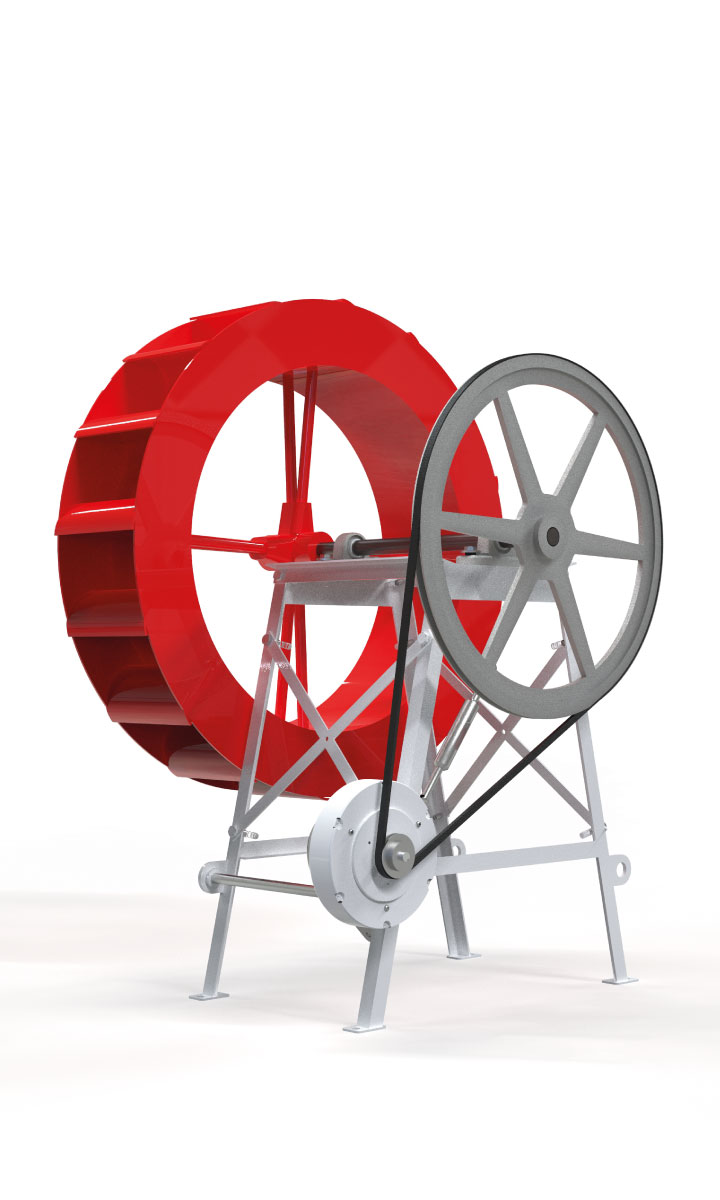 Kit Roda D' Água 80 -Enersud