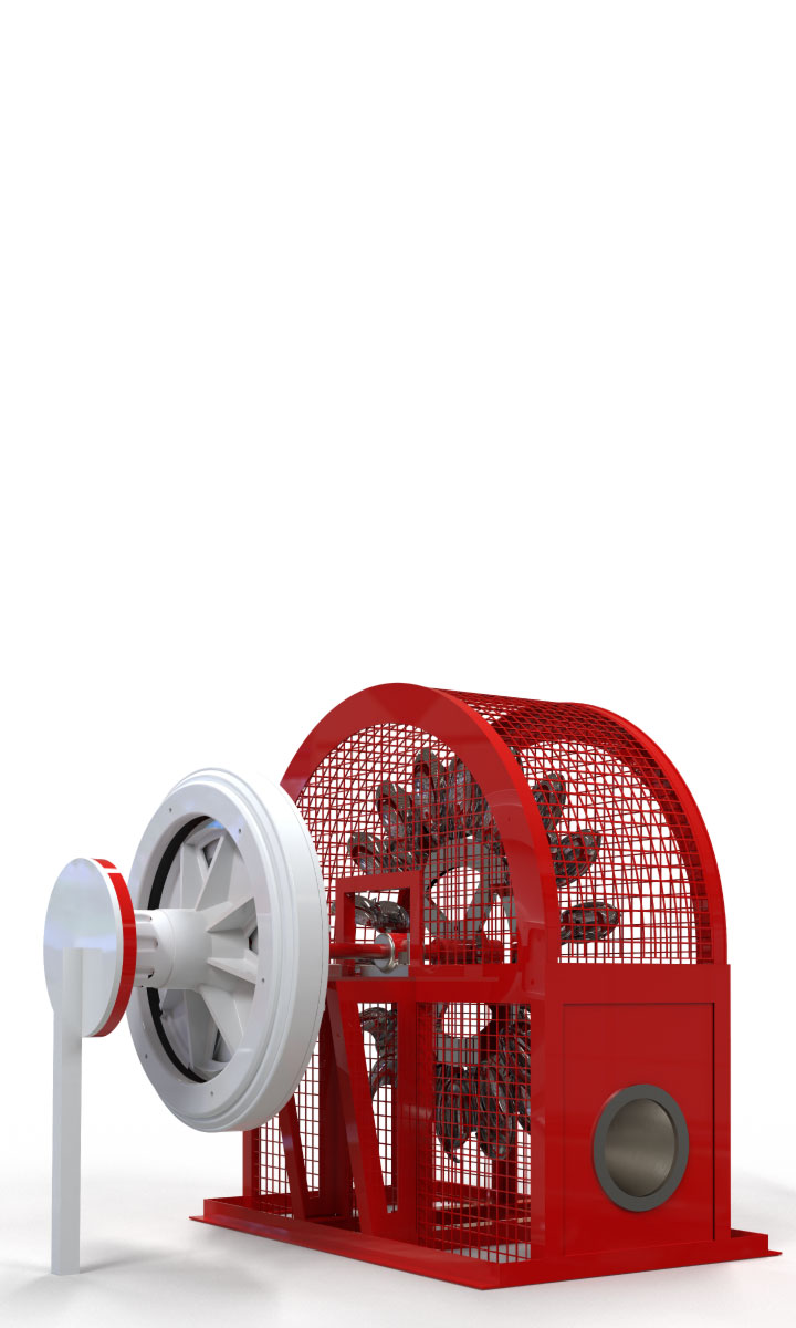 Kit Turbina Pelton Pen 50 - Enersud